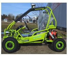 BUGGY NOU:KINDER MIDDY OffRoad Deluxe - Poza 2/3