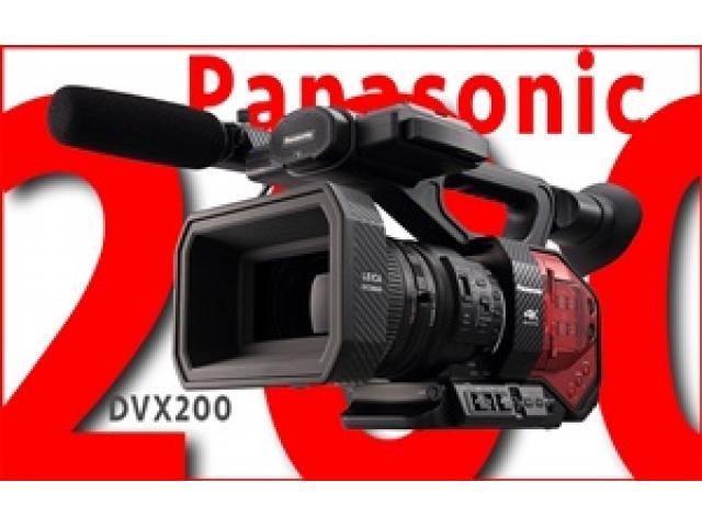 Panasonic AC90 , DVX200 , X1000 - 1/3