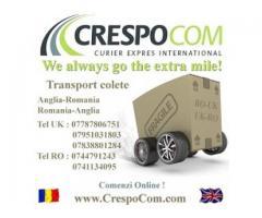 Curierat international Romania-Anglia