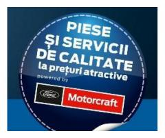 Reduceri substantiale la piese auto Ford