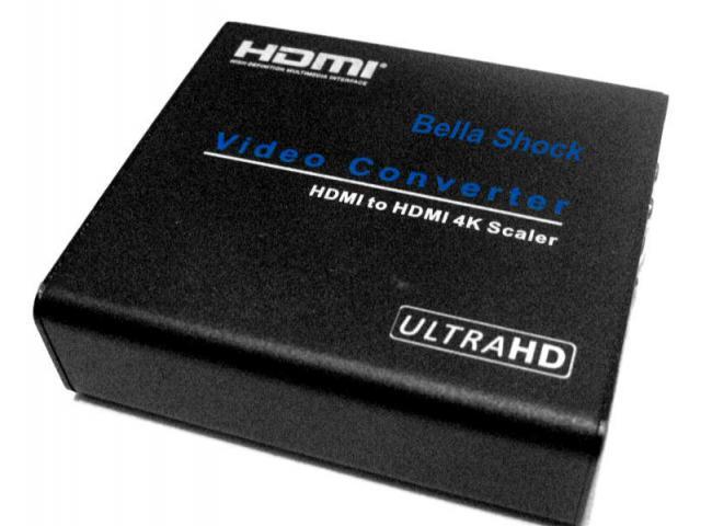 CONVERTOR UPSCALER UNIVERSAL HDMI To HDMI 4kx2k@60 Hz - 1/1