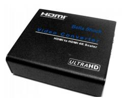 CONVERTOR UPSCALER UNIVERSAL HDMI To HDMI 4kx2k@60 Hz