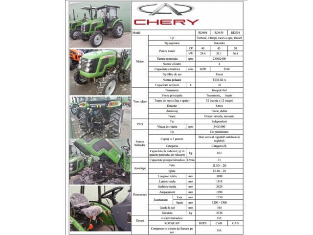 Tractor nou Chery Zoomlion! Promotie! - 3/3
