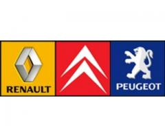 Dezmembrez gama Renault,Citroen si Peugeot