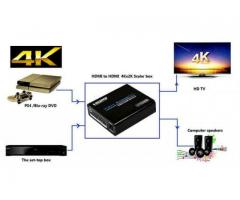 Upscaler Convertor Universal HDMI 4kx2k@60 Hz